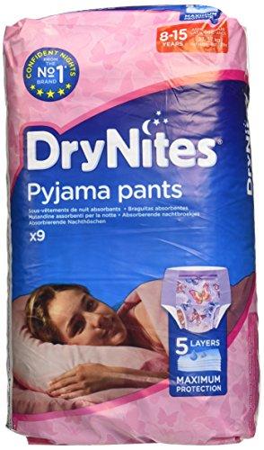Huggies drynites girl 8 15 anni 9 pezzi universo bimbi - Pipi a letto a 8 anni cause ...