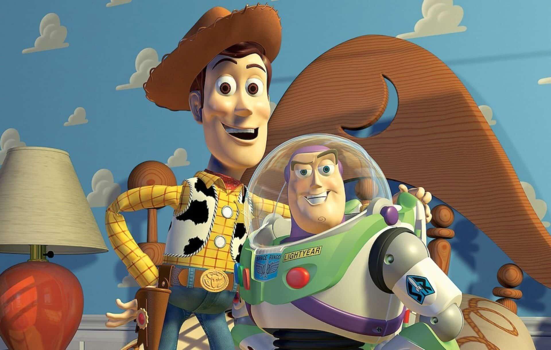 Toy Story Woody e Buzz Lightyear
